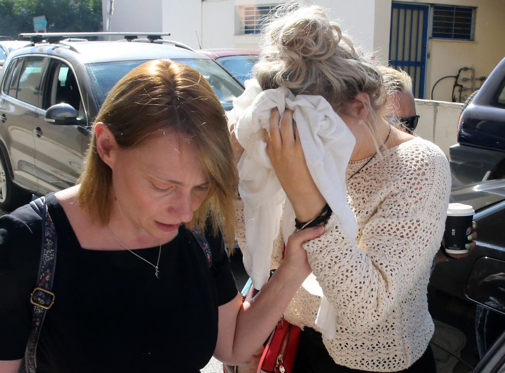 <p>A British woman convicted of lying about being gang-raped in Cyprus has filed an appeal to the island's Supreme Court in a bid to clear her name</p>