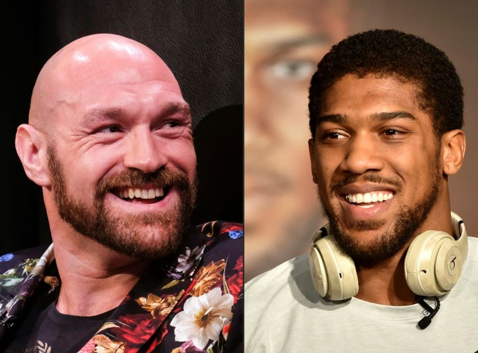 <p>Fury and Joshua have traded words ever since their undisputed title clash collapsed</p>