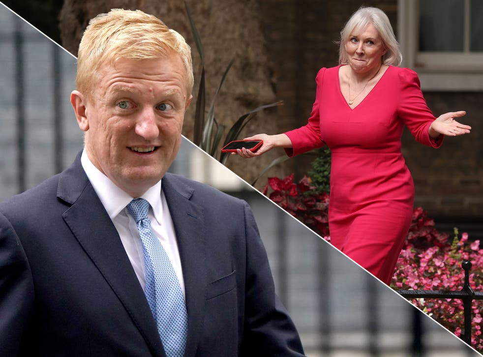 <p>The public will be hearing much more from Oliver Dowden and Nadine Dorries after the reshuffle </p>