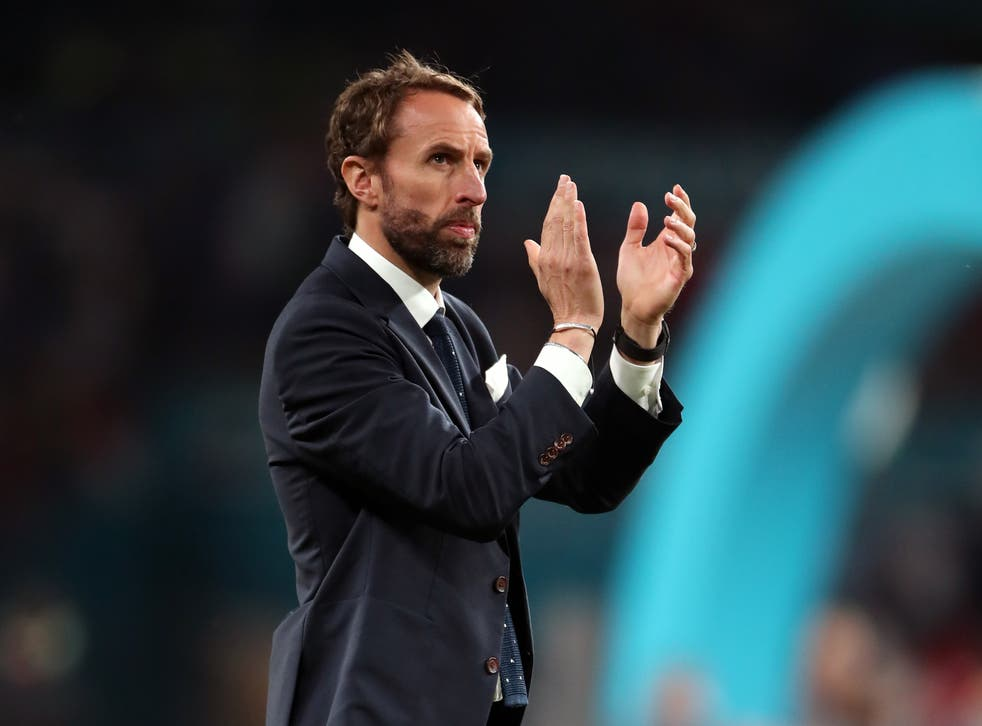 Gareth Southgate felt he experienced the country at its worst after England's defeat in the Euro 2020 final (Nick Potts/PA)