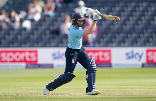 England captain Heather Knight led from the front, striking 89 with the bat and taking two slip catches as the home side took a 1-0 lead in the one day international series against New Zealand (David Davies/PA)