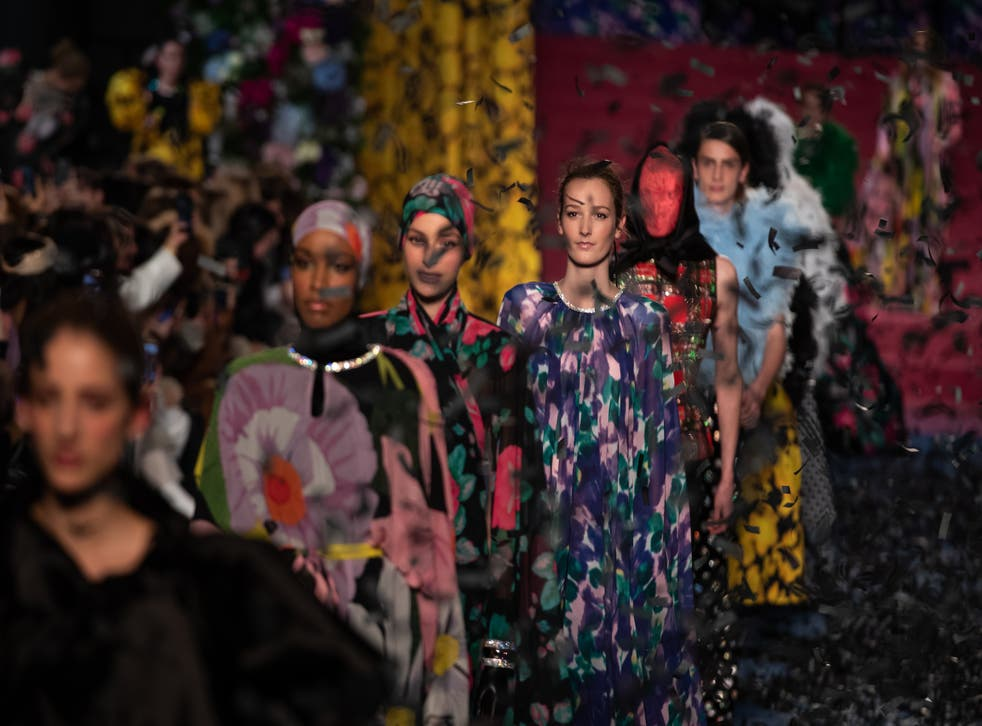 Richard Quinn will be staging a catwalk show at London Fashion Week (Aaron Chown/PA)
