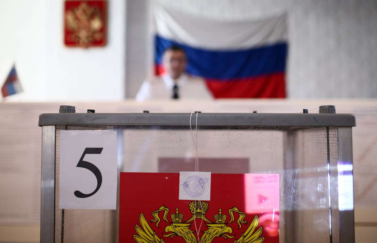 Russian election: Google and Apple remove Navalny app as Russia goes to the polls - independent