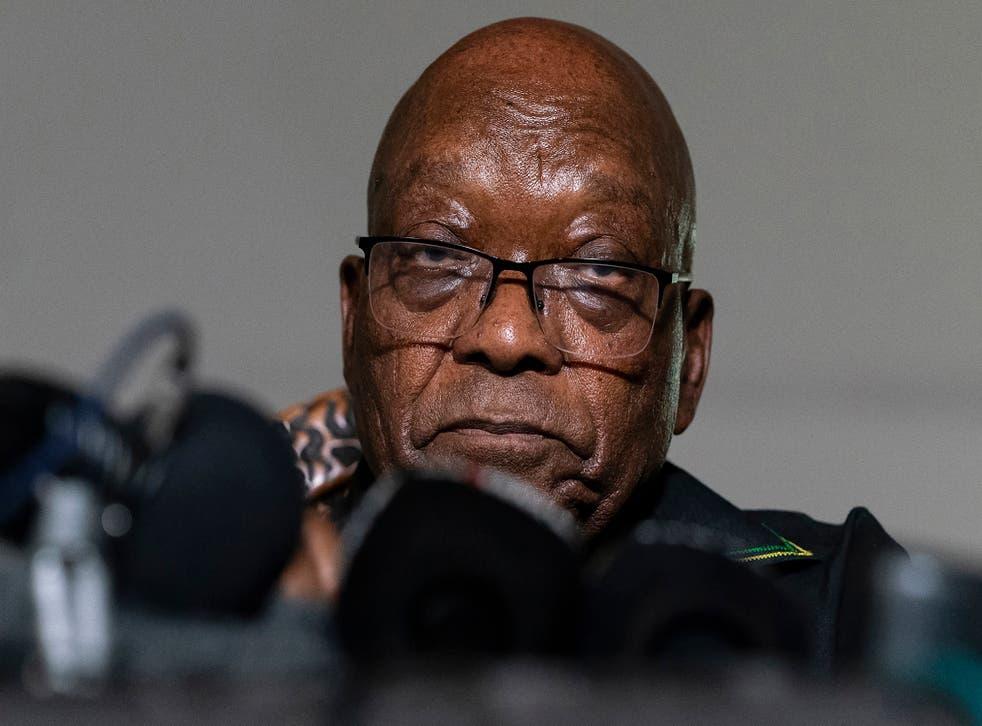 South Africa Zuma Parole