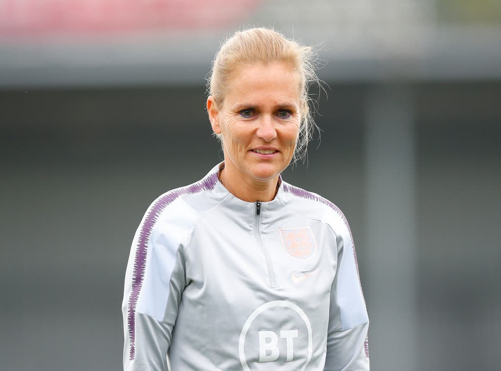 <p>Sarina Wiegman will take charge of her first England game</p>