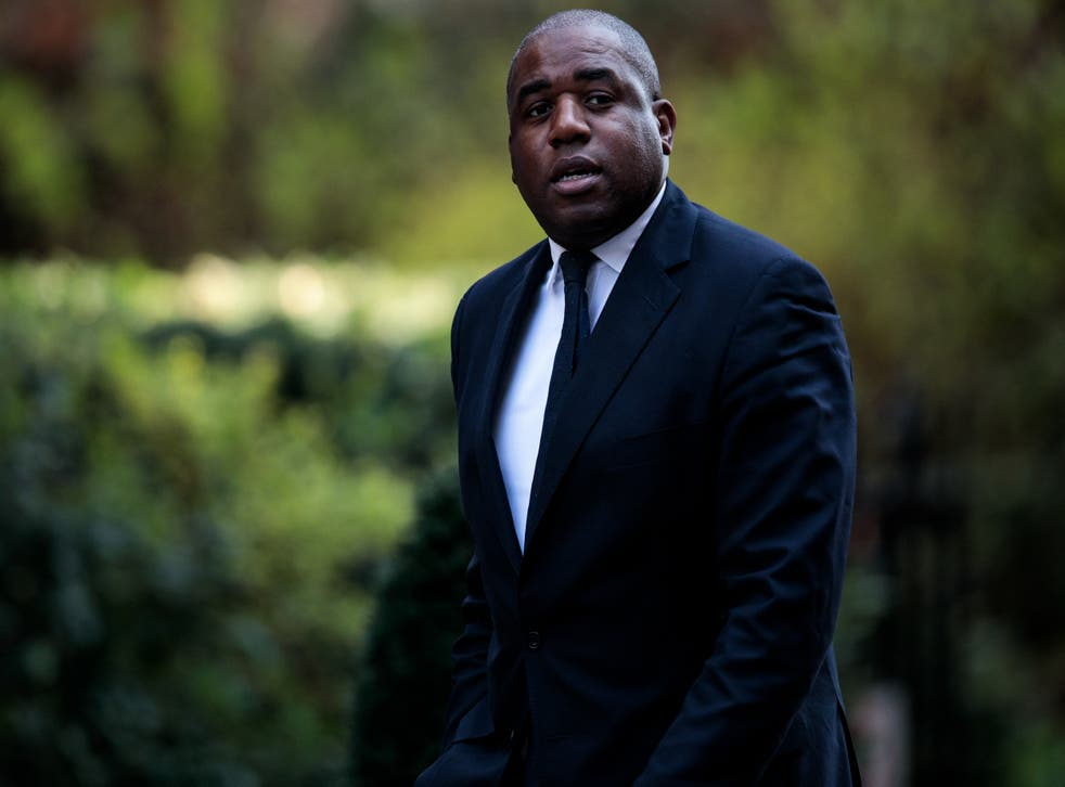 """<p>Mr Lammy wrote that his visit to Pentonville prison was cancelled """"vindictively"""" by Mr Raab </p>"""