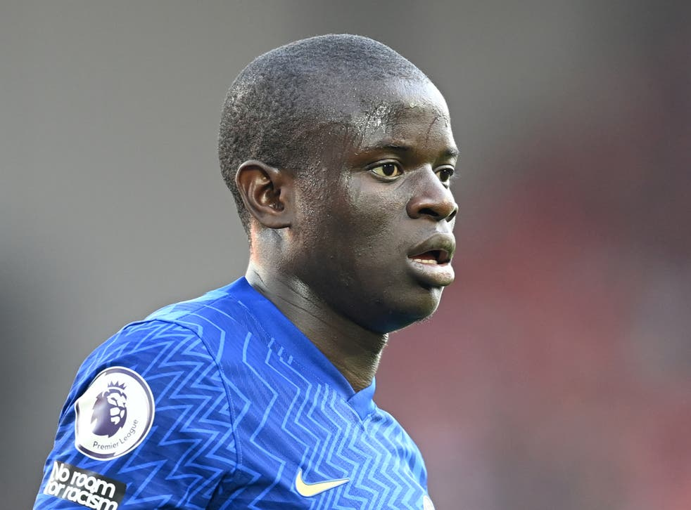 <p>N'Golo Kante is set to return from injury</p>