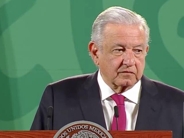 <p>El presidente López Obrador en su Mañanera de este viernes 17 de septiembre.  </p>
