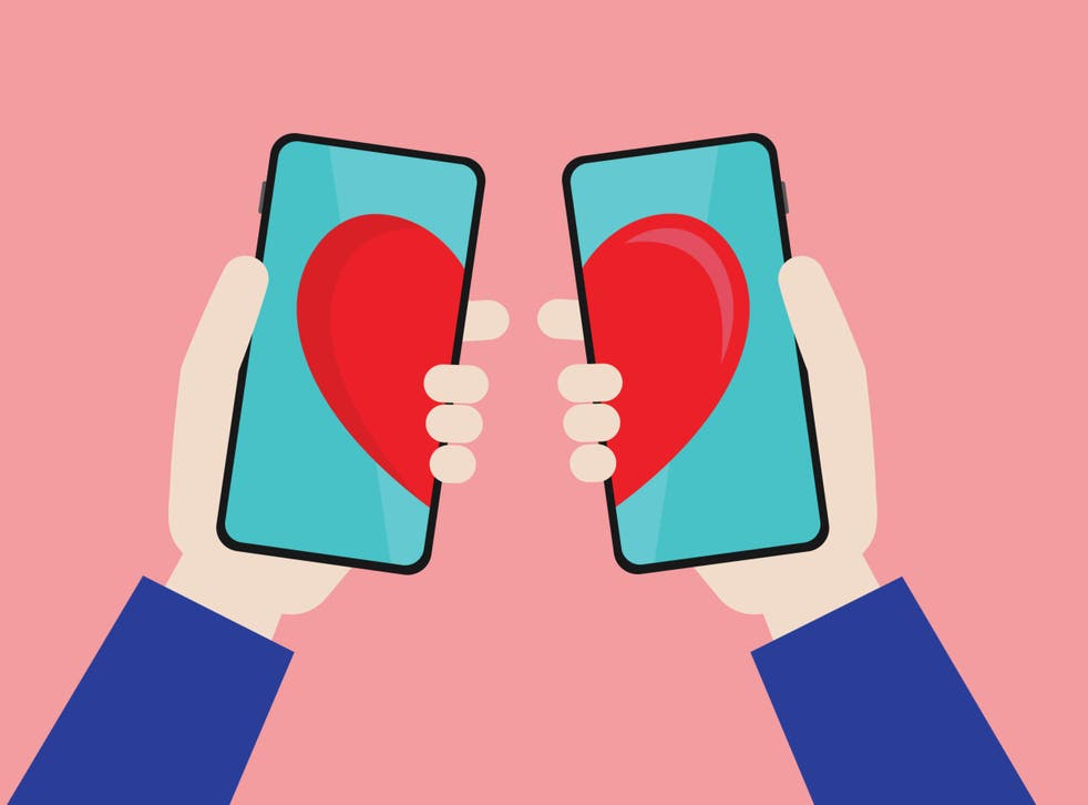 <p>Dating app illustration</p>
