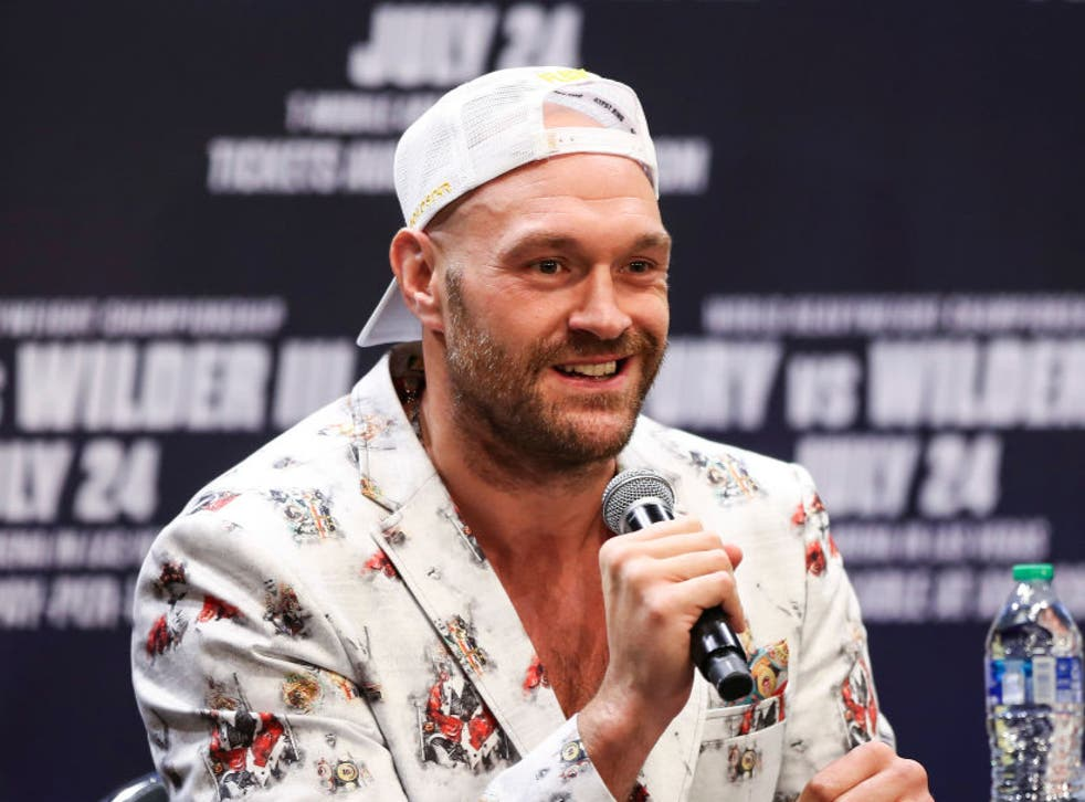 <p>Fury is looking to beat Wilder for a second time in two years </p>