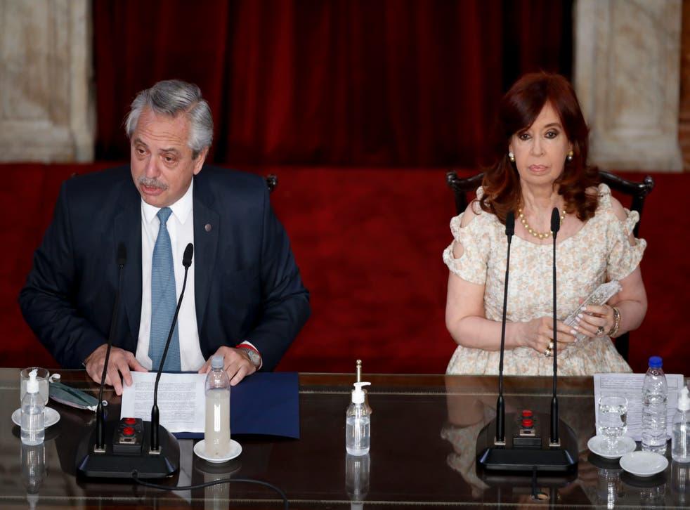ARGENTINA-PELEAS POLÍTICAS