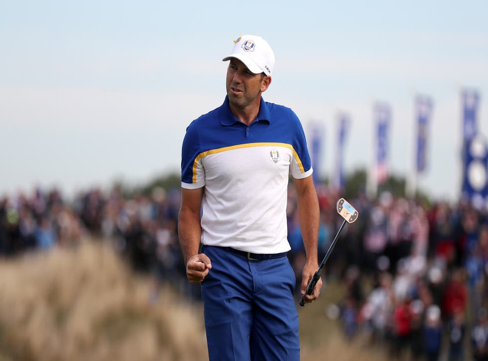 Sergio Garcia will be playing in a 10th Ryder Cup next week (Gareth Fuller/PA)