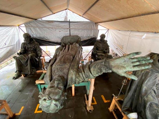 Mexico Columbus Statue