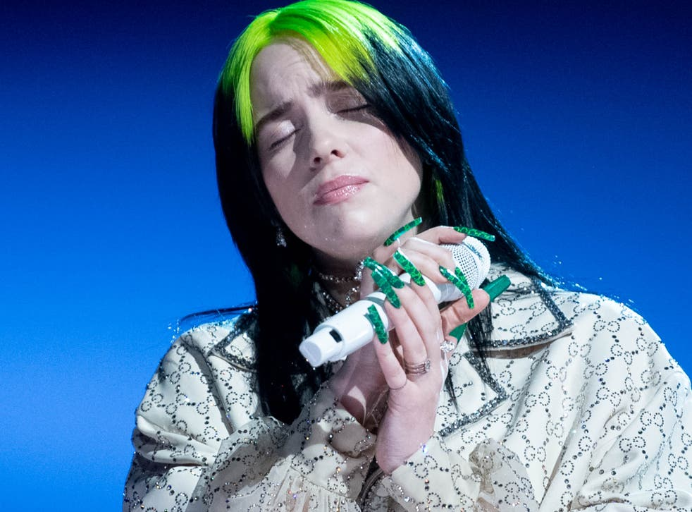 <p>Billie Eilish joined others in calling for animal farming to be officially recognised as a leading cause of climate change </p>