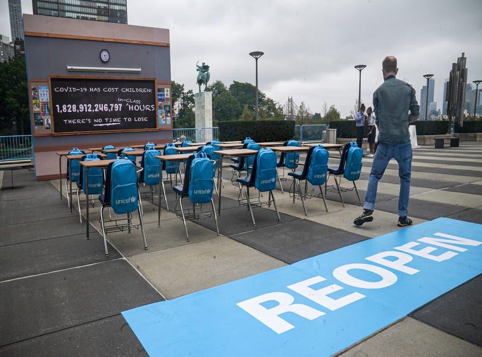 United Nations - UNICEF Installation