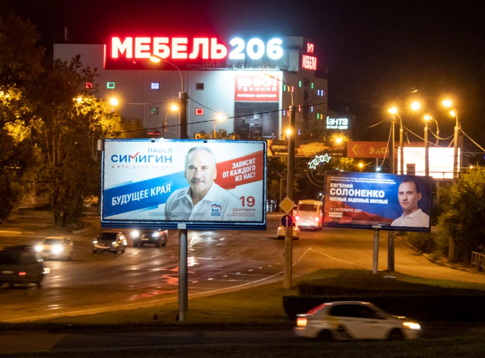 Russia Election Ousted Governor