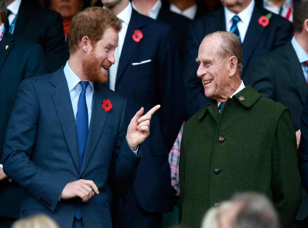 <p>Prince Harry says Prince Philip was a good listener </p>