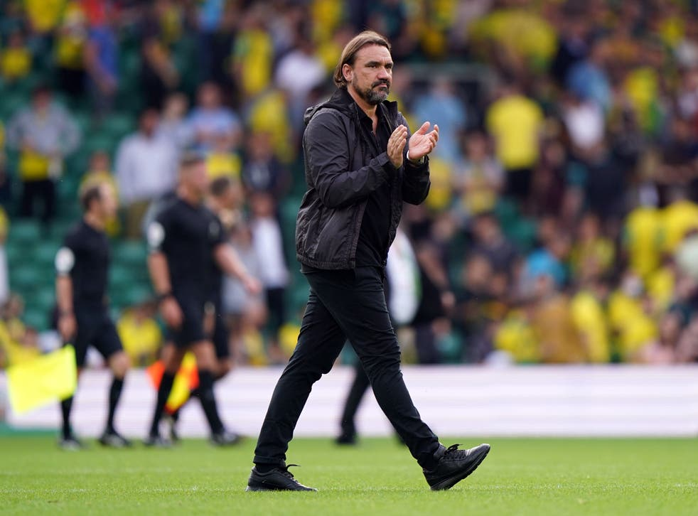 Daniel Farke was left to rue defensive mistakes as Norwich's losing start to the Premier League season extended to five games following a 3-1 defeat to Watford at Carrow Road (Joe Giddens/PA)