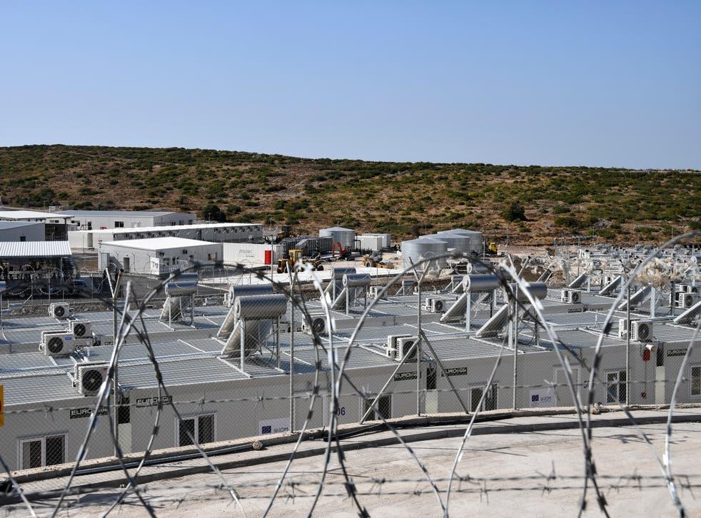 Greece Migrants Camp