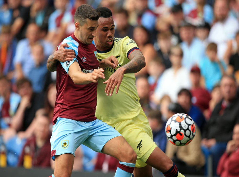 <p>Gabriel was Arsenal's man of the match against Burnley </p>