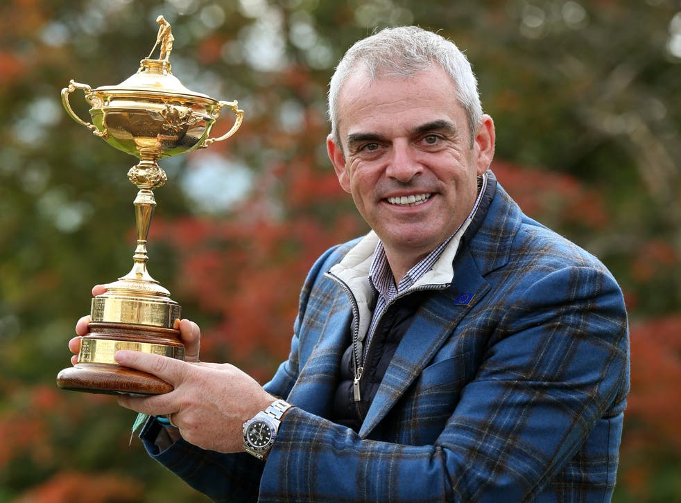 Paul McGinley led Europe to Ryder Cup glory in 2014 (Andrew Milligan/PA)
