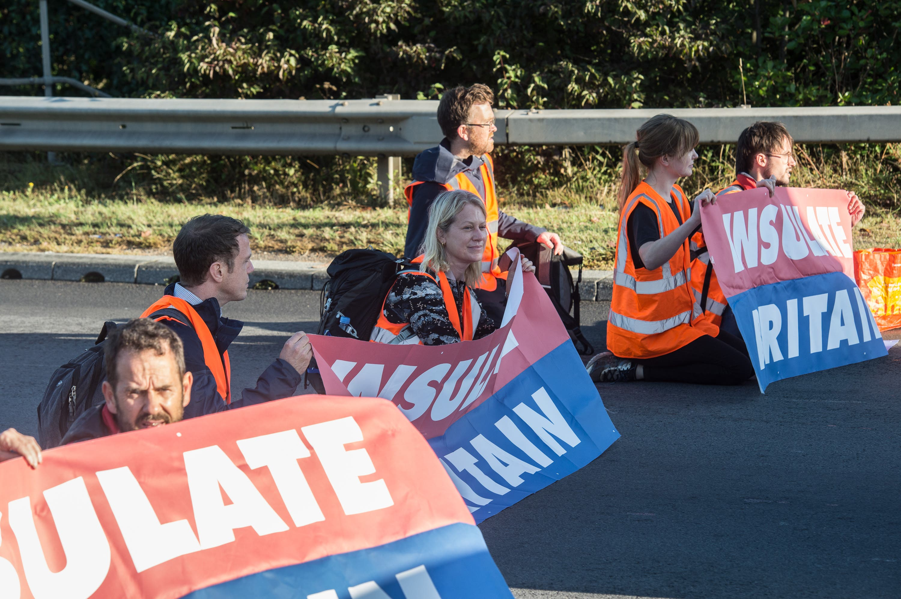 Climate campaigners hurting their own cause with motorway blockades, says Boris Johnson
