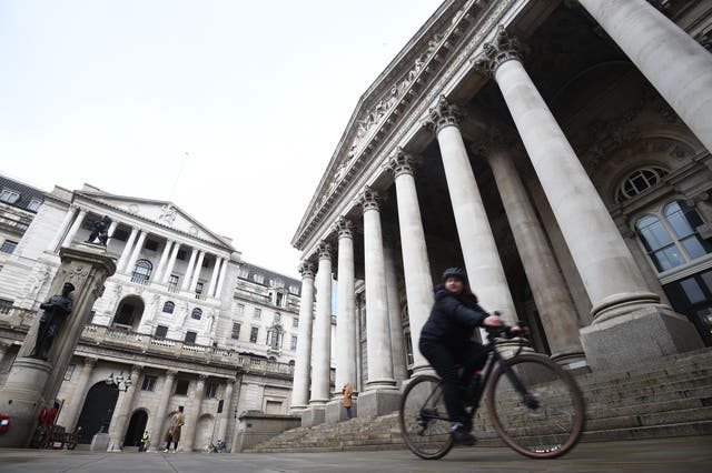 <p>The Bank of England predicted last month that inflation will go to 4 per cent this autumn</p>