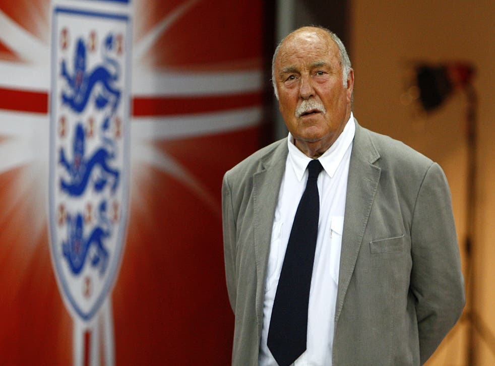 <p>Jimmy Greaves, pictured here in 2009, scored 44 goals in 57 matches for England  and was part of the 1966 World Cup-winning squad, though he controversially missed out on the final</p>