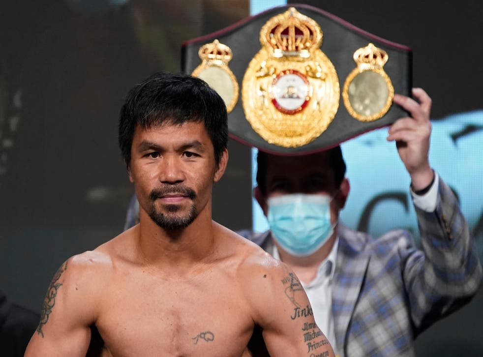 <p>Pacquiao has asked the people of the Philippines to support him in his bid to be the president </p>