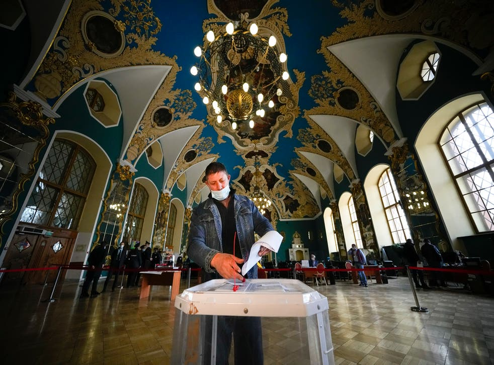 APTOPIX Russia Election