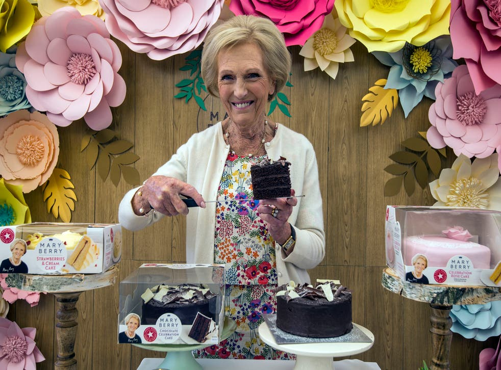 Mary Berry launched a range of cakes with Finsbury Food (Lauren Hurley/PA)