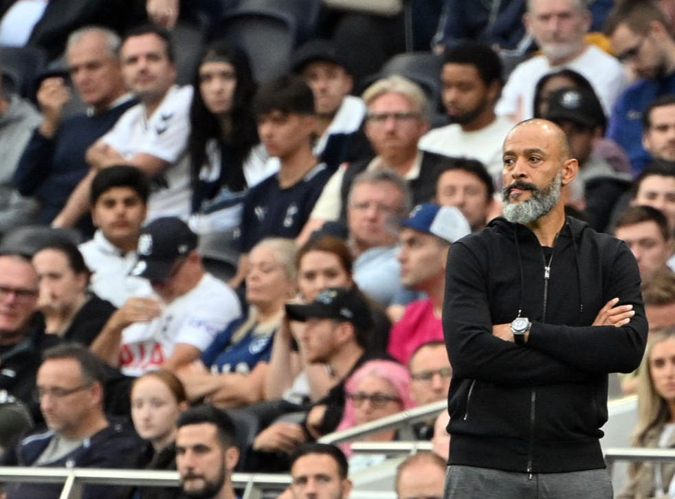 <p>Nuno: I believe the first half was really good. So if there's only one positive, that was the first half</p>