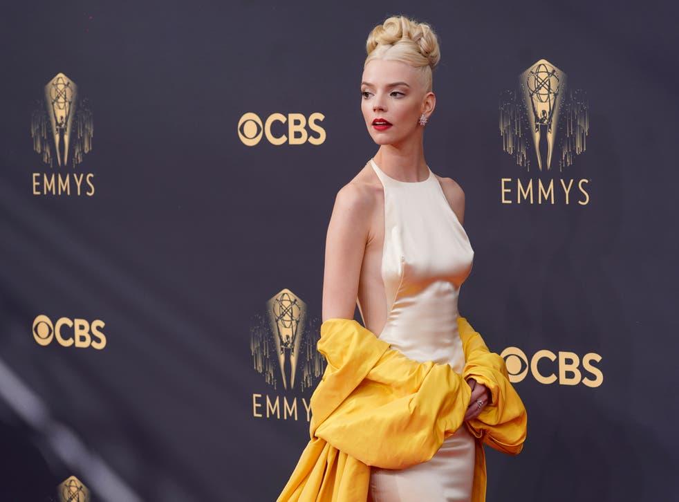 Anya Taylor-Joy at the Emmys (Chris Pizzello/AP)