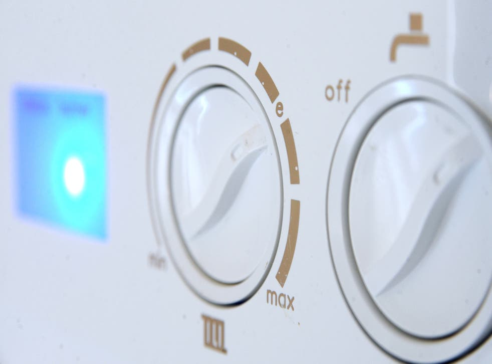 Most UK homes are heated with gas (Joe Giddens/PA)