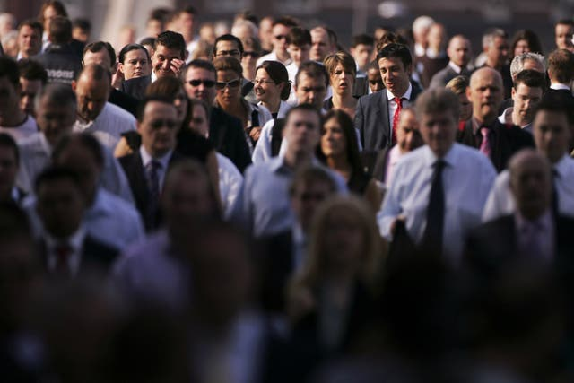 <p>Those surveyed said they found slow walkers annoying in particular </p>