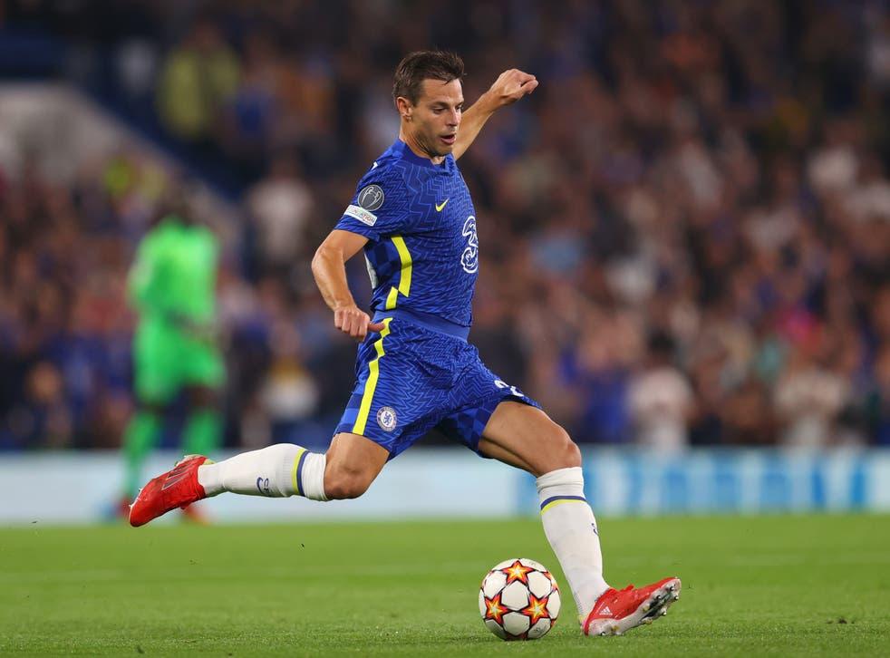 <p>Azpilicueta was part of Chelsea's 3-0 win against Tottenham</p>