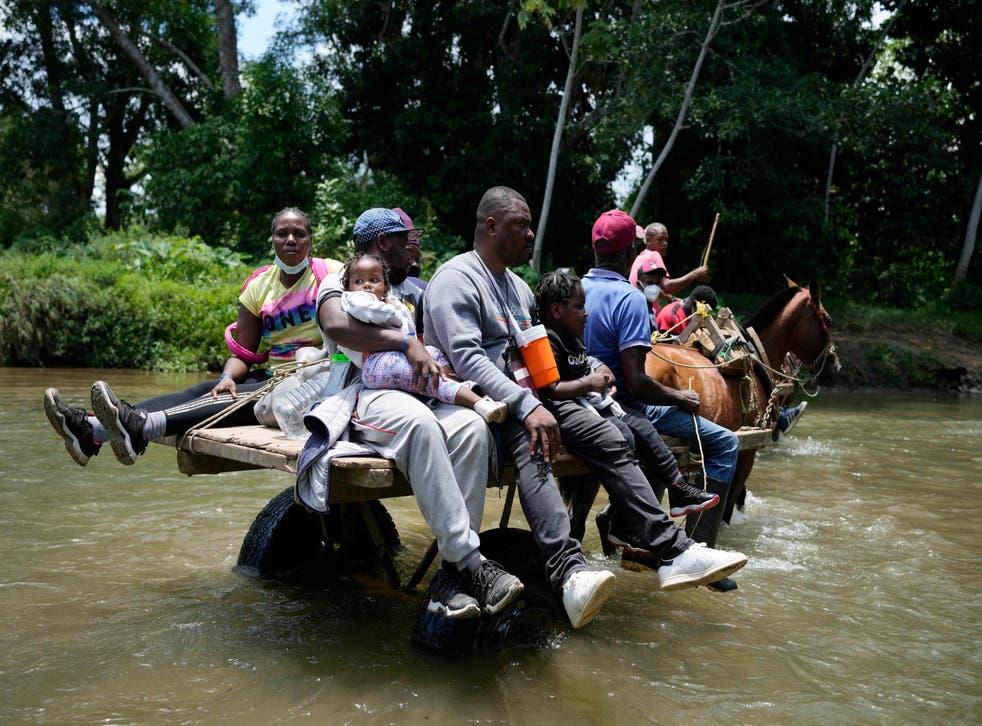 EEUU-MIGRANTES HAITIANOS-FOTOGALERÍA