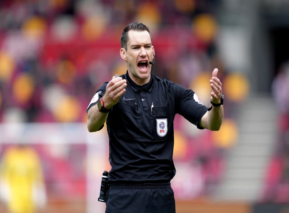 Jarred Gillett will take charge of his first Premier League match this weekend (John Walton/PA)
