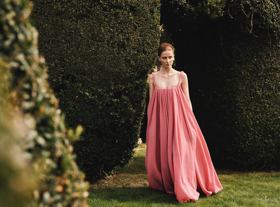 <p> Wickstead's romantic, floral-heavy collection was inspired by French film 'Last Year at Marienbad'</p>