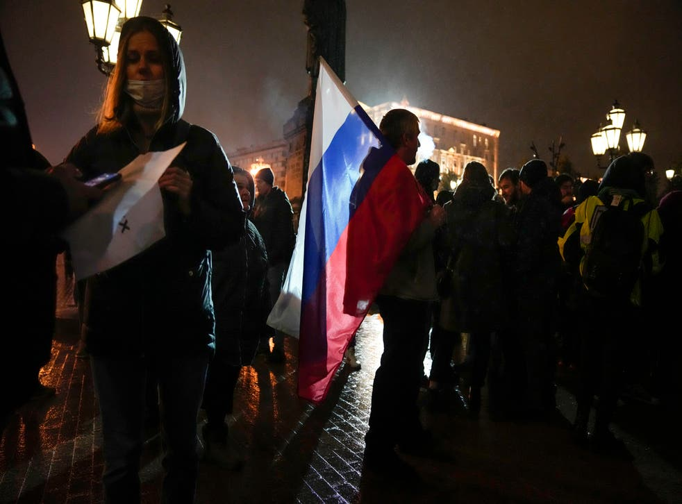 Russia Election Protest