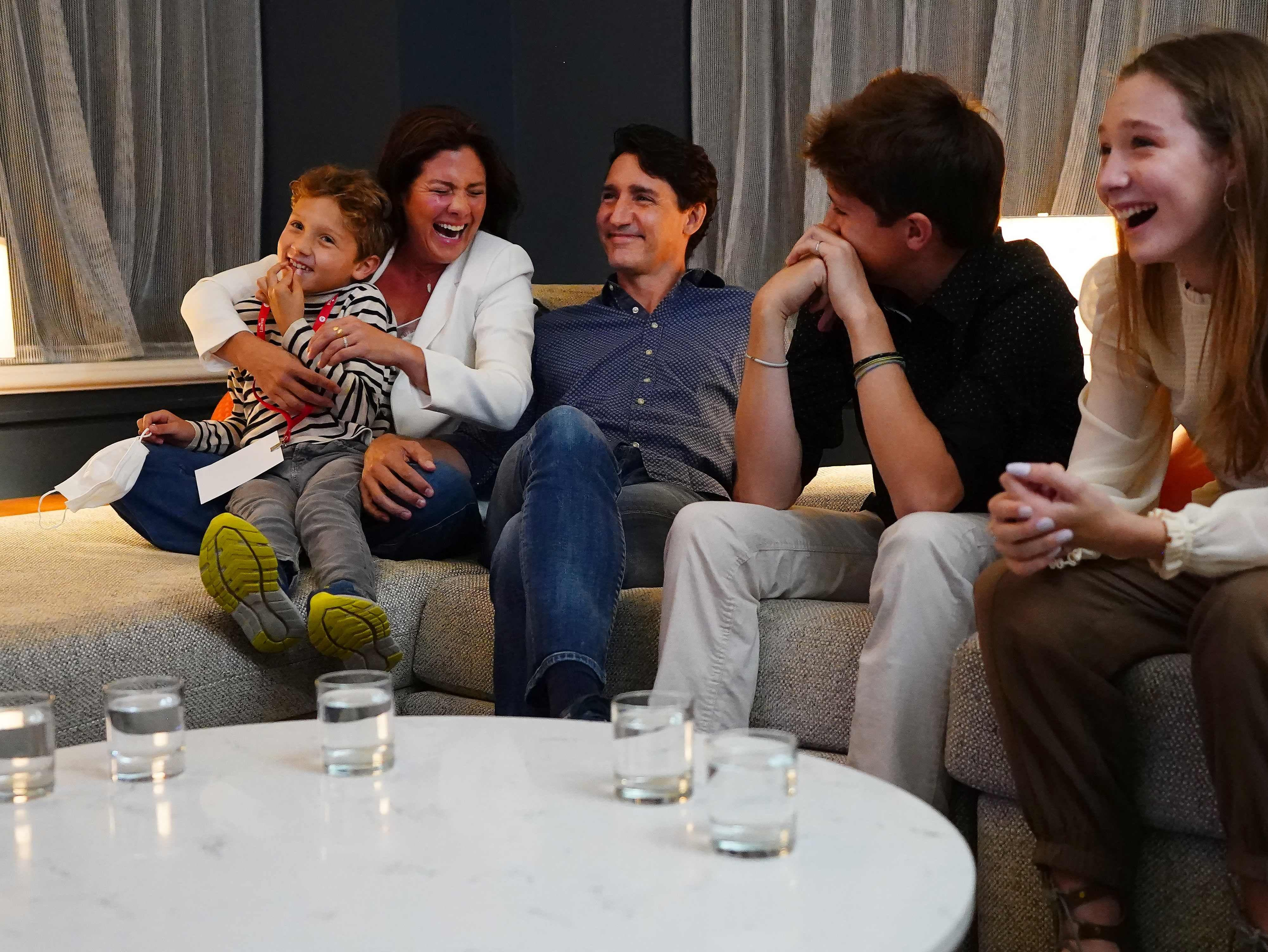 Justin Trudeau wins Canada election but Liberal Party may struggle for outright majority, projections say