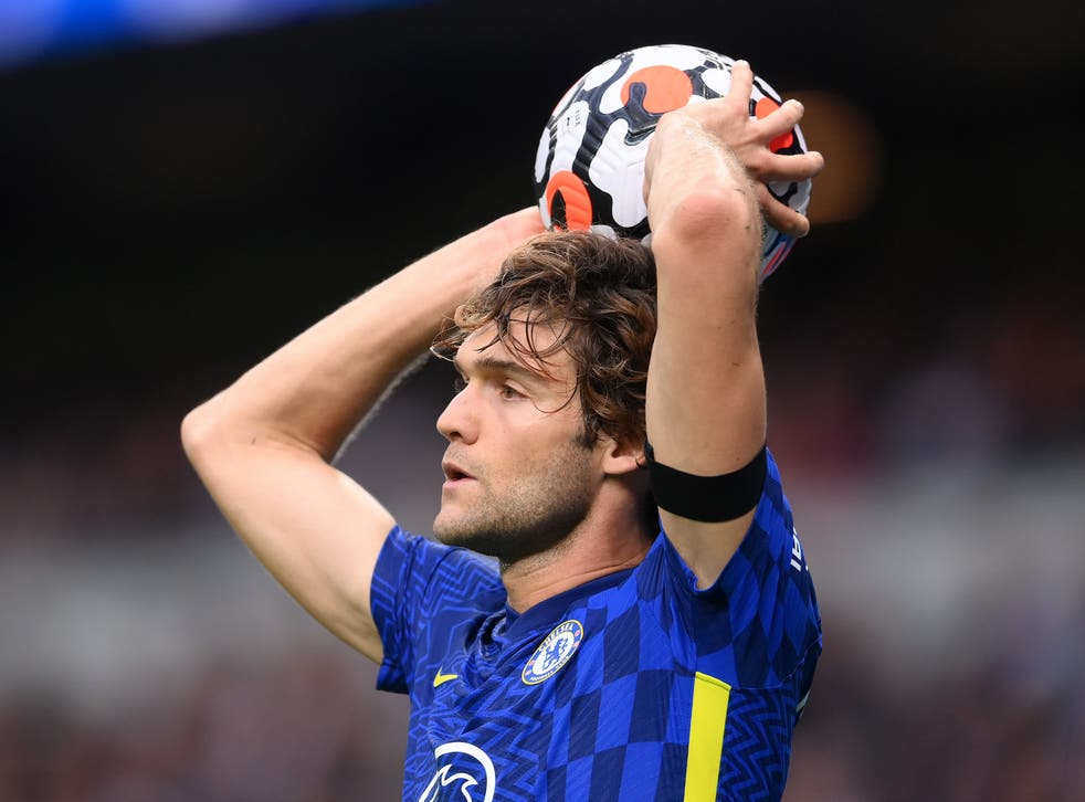 <p>Marcos Alonso of Chelsea has decided to stop taking the knee</p>