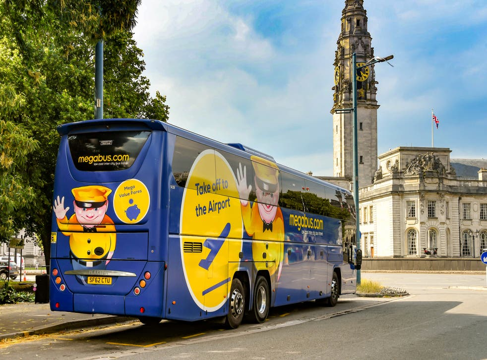 <p>Megabus is one of the brands owned by Stagecoach</p>