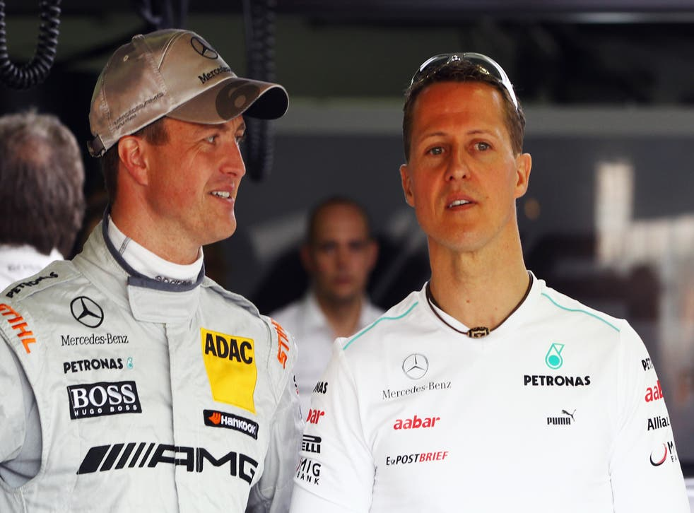 <p>Ralf and Michael Schumacher raced together in the Formula 1</p>
