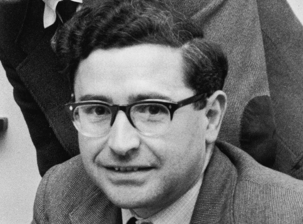 <p>The radio astronomer (pictured in 1961) won the Nobel Prize in Physics in 1974</p>
