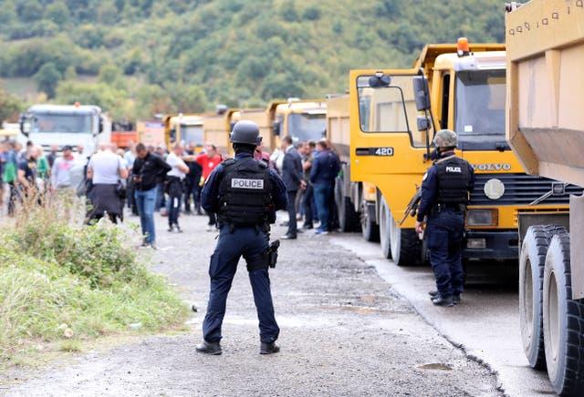 KOSOVO SERBIA TENSION