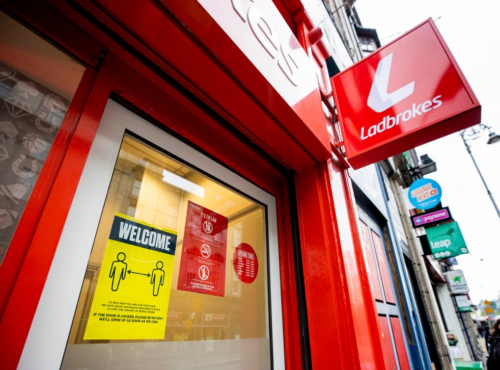 Ladbrokes's owner is understood to be facing a bid from US rival Draftkings (Liam McBurney/PA)