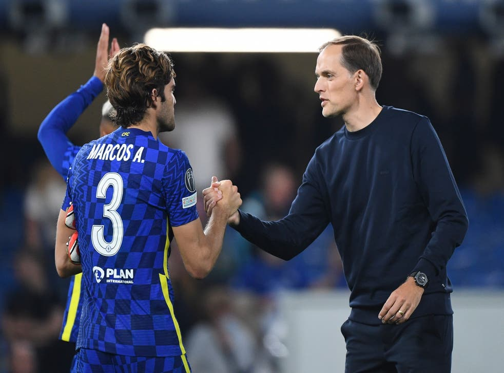 <p>Marcos Alonso will no longer take the knee </p>