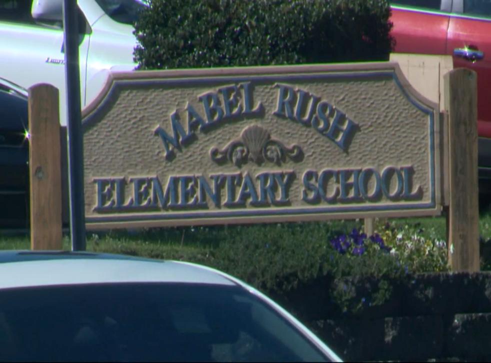 <p>Mabel Rush Elementary School in Newberg</p>