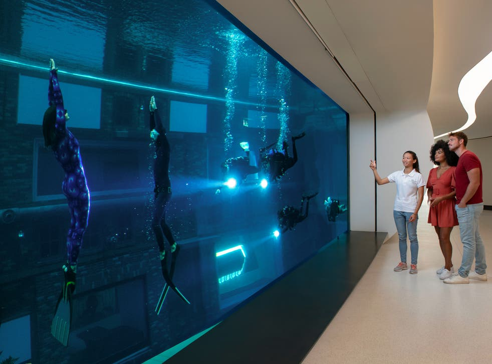 <p>Diving deep in Dubai</p>